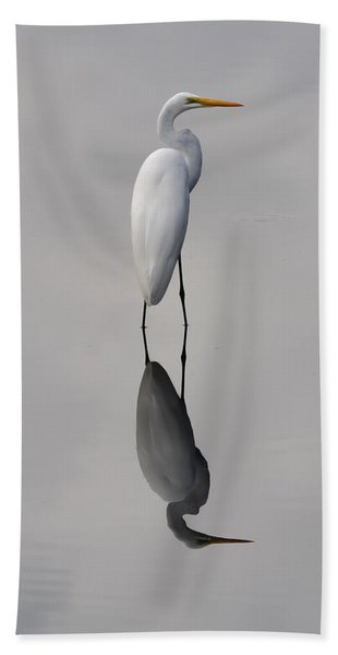 Argent Mirror Beach Towel