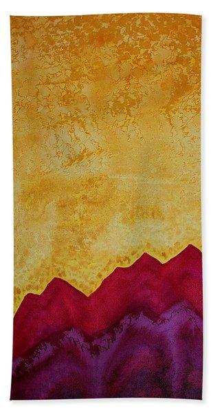 Ascension Original Painting Beach Sheet