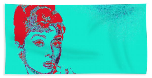 Audrey Hepburn 20130330v2p128 Beach Towel