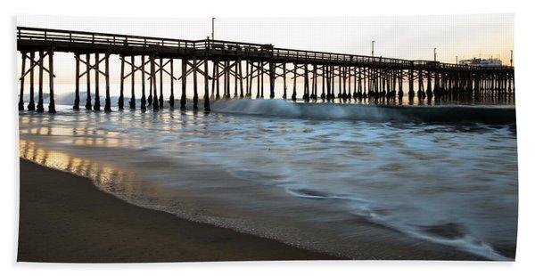 Balboa Pier  Beach Towel