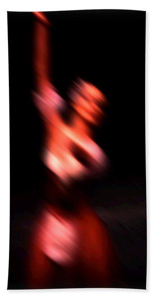 Ballet Blur 4 Beach Towel