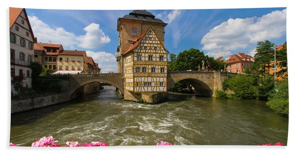 Bamberg Bridge Beach Towel
