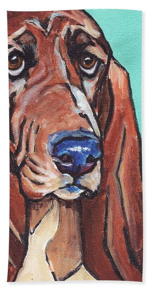 Basset II Beach Towel