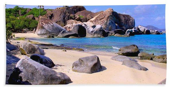 Baths Bvi Beach Towel