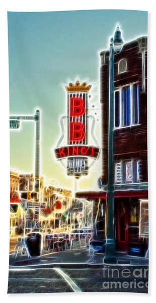 Bb King Club Beach Towel