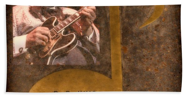 Bb King Note Beach Towel
