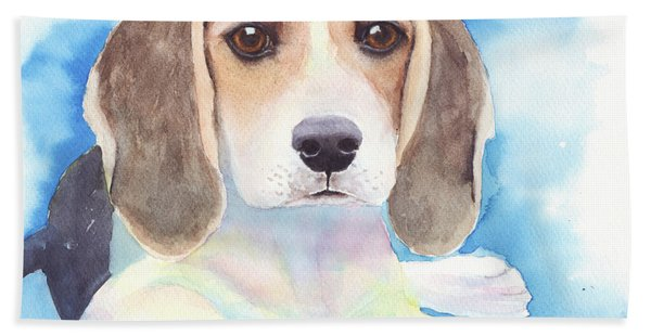 Beagle Baby Beach Towel