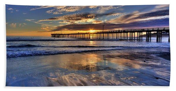 Beautiful Cayucos Beach Sheet