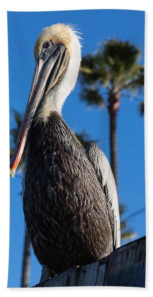 Blond Pelican Beach Towel