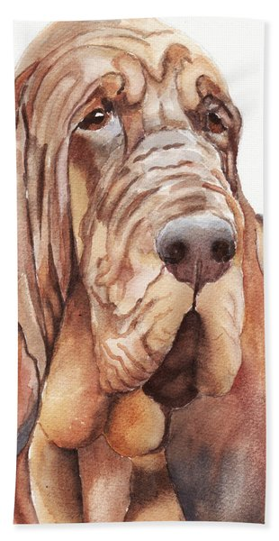 Bloodhound Beach Towel