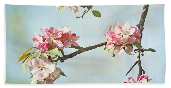 Blossom Branch Beach Towel