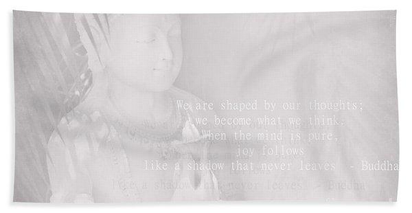 Bodhisattva Beach Towel
