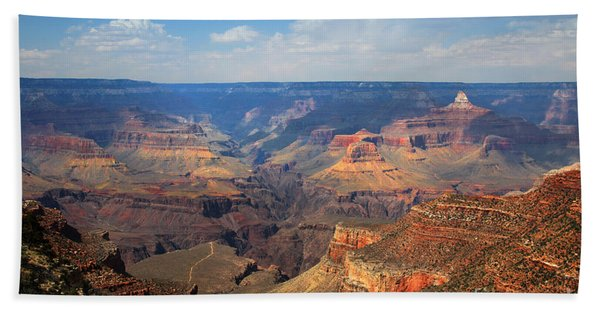 Beach Towel featuring the photograph Bright Angel Trail Grand Canyon National Park by Jemmy Archer