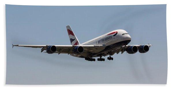 British Airways A380 Beach Towel