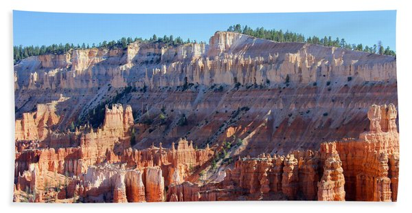 Beach Towel featuring the photograph Bryce Amphitheater by Jemmy Archer