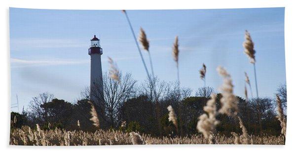Cape May Light Beach Towel