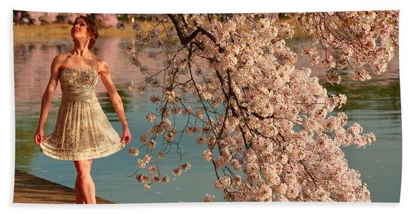 Cherry Blossoms 2013 - 082 Beach Towel