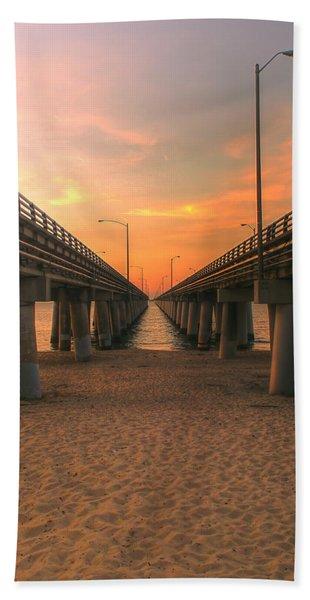Chesapeake Bay Bridge IIi  Beach Towel