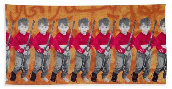 Children Of War, Children Of Peace, 1996 Silkscreen On Canvas See Also 279271 Beach Towel