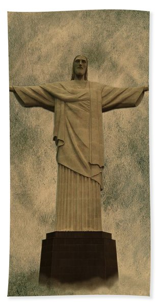Christ The Redeemer Brazil Beach Sheet