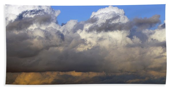 Clouds Over Portsmouth Beach Towel