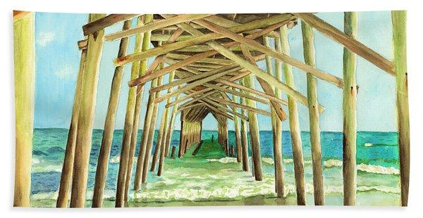 Coastal Cathedral  Beach Sheet