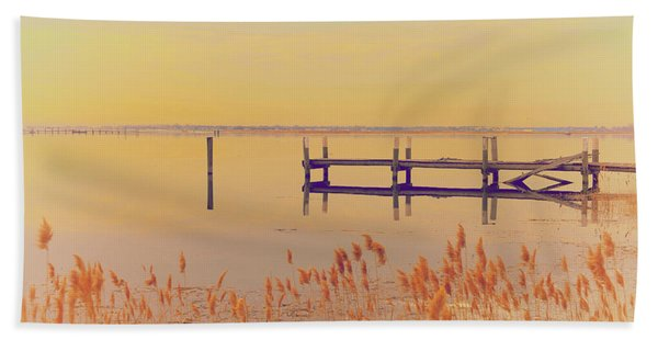 Coastal Winter Beach Towel