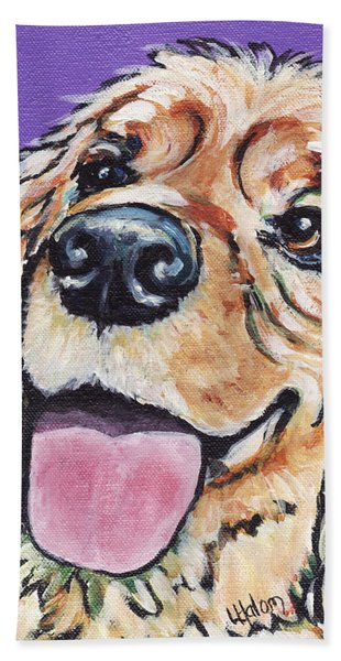 Cocker Spaniel Beach Towel