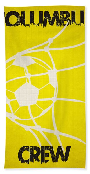 Columbus Crew Goal Beach Towel