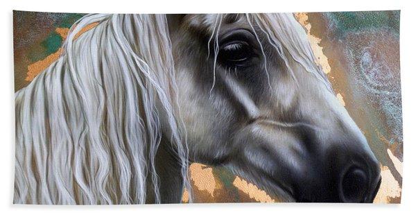 Copper Horse Beach Towel