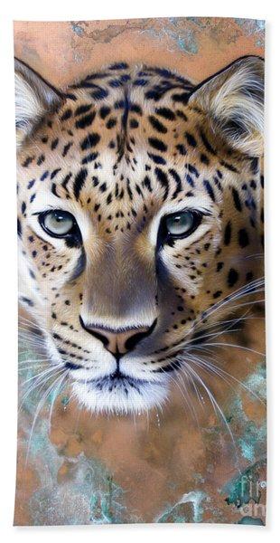 Copper Stealth - Leopard Beach Towel