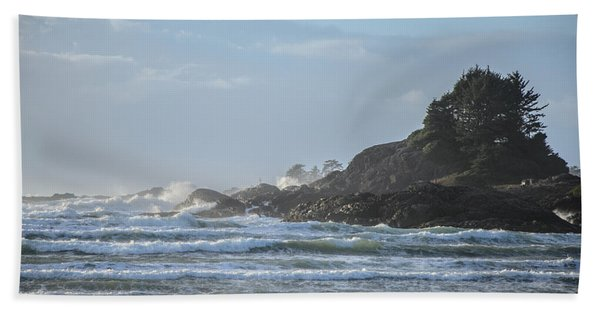 Cox Bay Afternoon Waves Beach Sheet