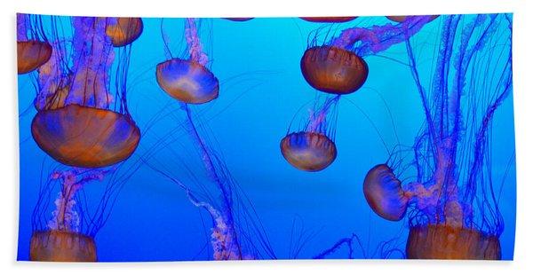 Dance Of The Jellyfish Beach Towel
