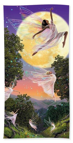 Dance Of The Moon Fairy Beach Towel