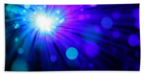 Dazzling Blue Beach Sheet