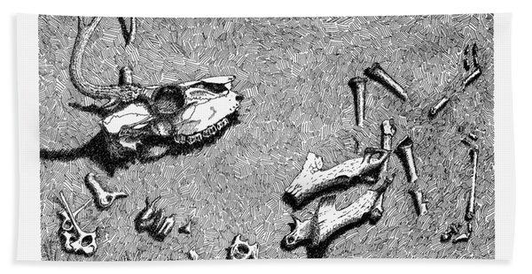 Deer Bones Beach Sheet