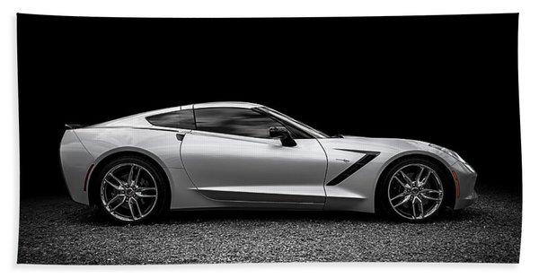 2014 Corvette Stingray Beach Towel
