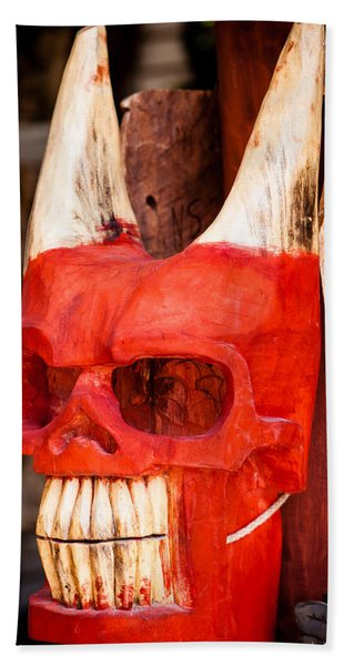 Devil In The Details Beach Towel