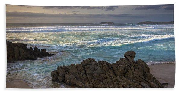 Doninos Beach Ferrol Galicia Spain Beach Towel