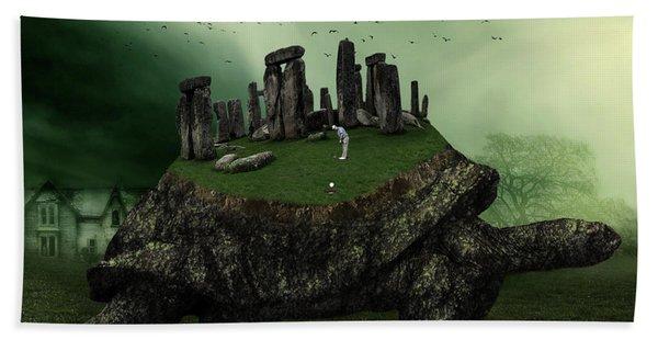 Druid Golf Beach Towel