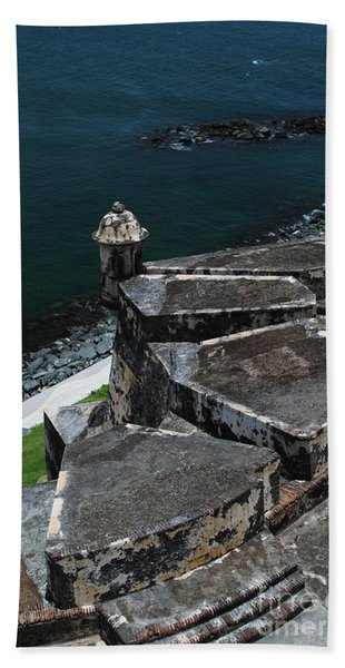 El Morro From Above Beach Towel