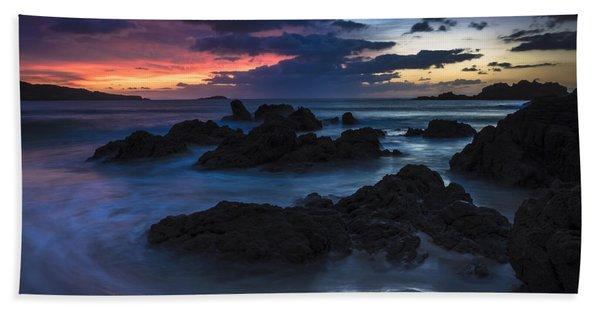El Villar Beach Galicia Spain Beach Towel