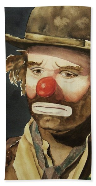 Emmett Kelly Beach Towel