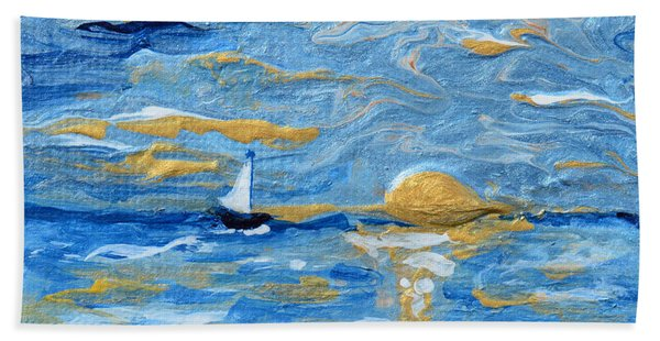 End Of The Storm Beach Towel