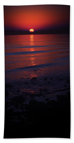 Ending Colors Beach Towel