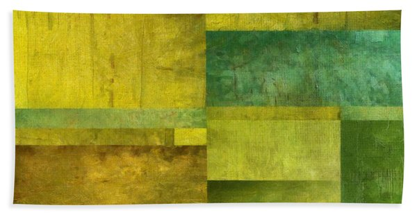 Essence Of Green Beach Towel