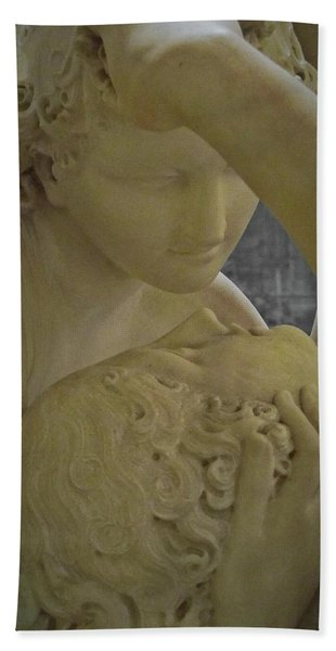 Eternal Love - Psyche Revived By Cupid's Kiss - Louvre - Paris Beach Towel
