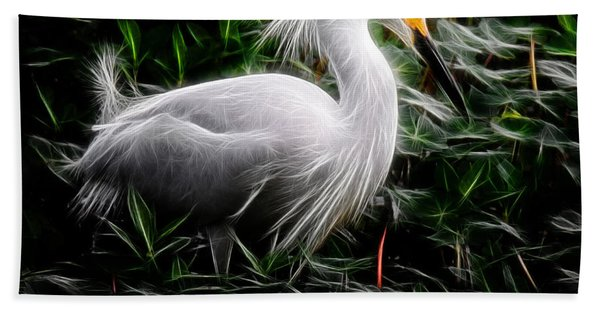 Fancy Feathers Beach Towel