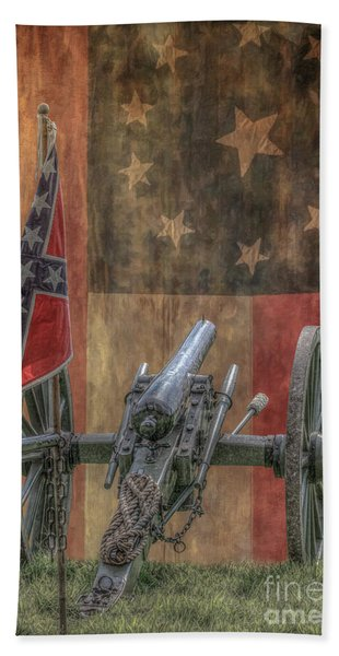 Flags Of The Confederacy Beach Towel