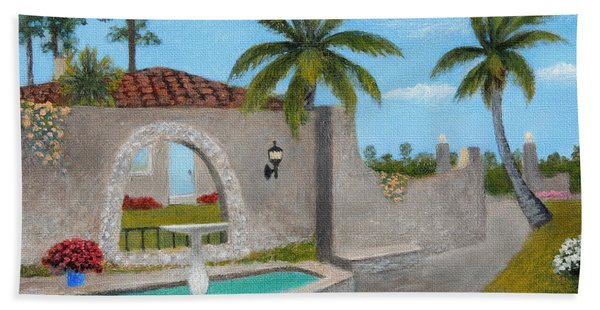 Florida Charm Beach Towel